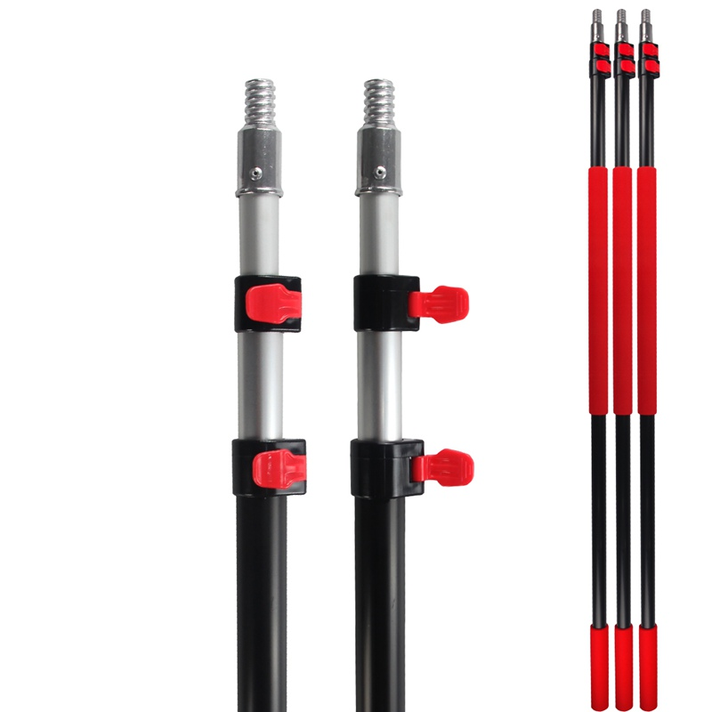 China Aluminum Telescopic pole with American Thread